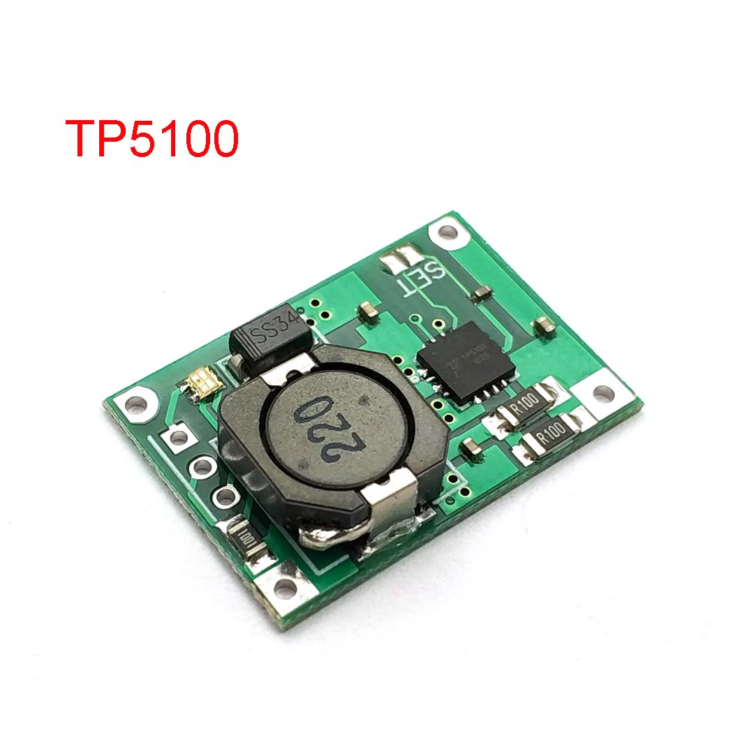 TP5100 Double Single Lithium Battery Charge Management Compatible 2A Rechargeable Lithium Plate