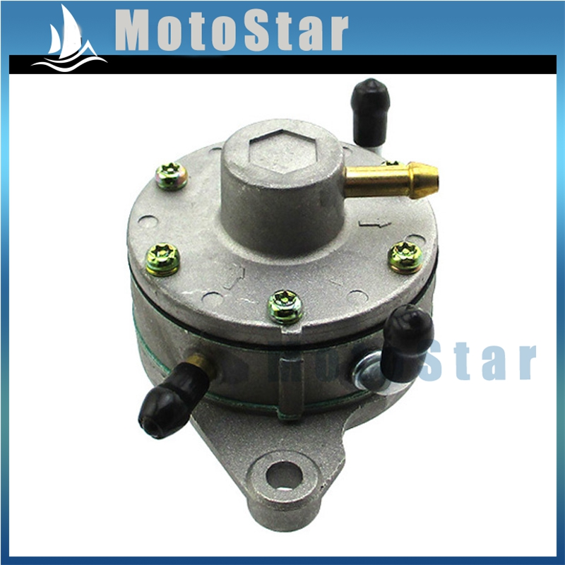 Dual Outlet Fuel Pump DF52-73 For Mikuni DF52-73 Snowmobiles /& Watercraft