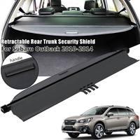 2010 2014 for Subaru Rear Car Outback Retractable Trunk Tonneau Cargo Cover Security 65550AJ01BVH