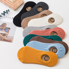 10 Pairs/lot Women Socks Funny Boat Sock For Girl Cotton Ankle Low Summer Winter Breathable Comfortable Solid Invisible Socks #E