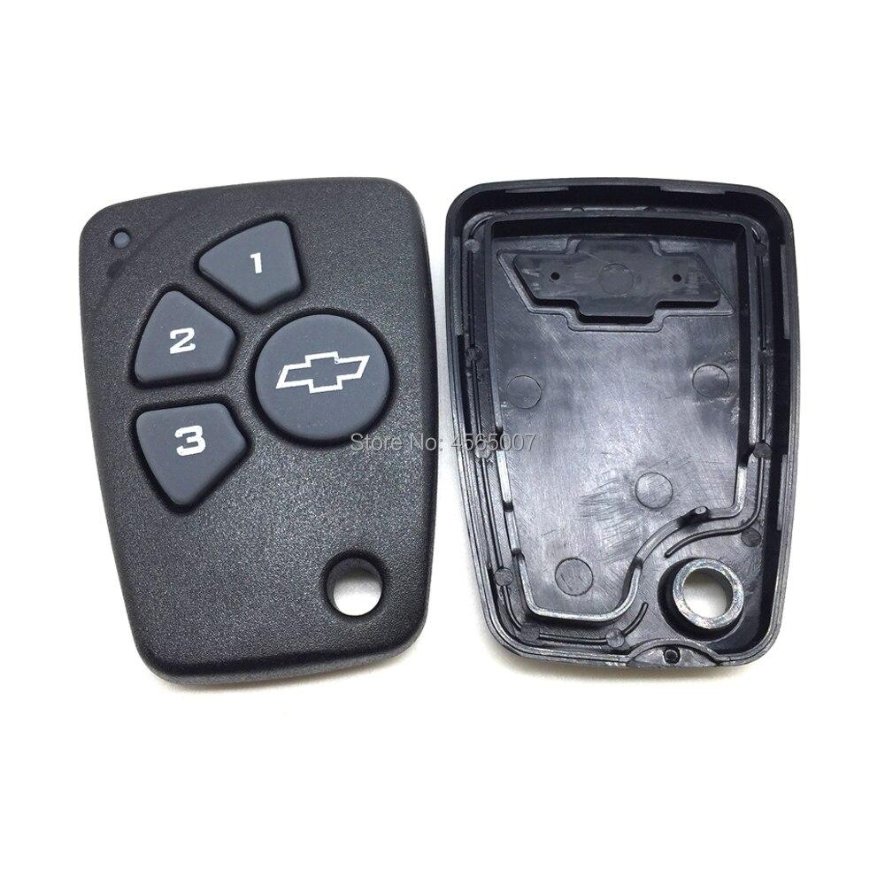 Attent Vervangende Afstandsbediening Sleutel Shell-4 Knoppen-fob Voor Chevrolet Cruze Spark Onix Silverado Volt Camaro-alleen Case Grote Rassen