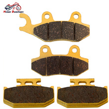 250CC Motorcycle Front and Rear Brake Pads for YAMAHA TTR 250 TTR250 1999-2004 YZ 250 YZ250 1990 1991 1992 1993 1994 1995 1997 motorcycle cylinder kit 250cc engine for yamaha majesty yp250 yp 250 170mm vog 257 260 eco power aeolus gsmoon xy260t atv