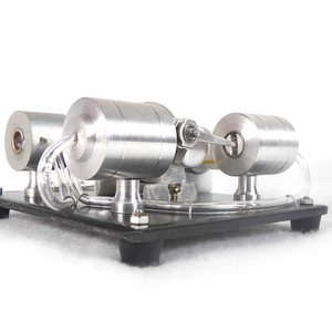 Image 2 - DIY הרכבה קיטור מנוע דגם מדע ניסוי ערכת חשמלי גנרטור מוקדם צעצועים חינוכיים לילדים