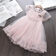 dc5e3b019 Venta al por mayor niño niña de vestido de princesa para niños ropa de  verano a granel por mucho hermosa chica sin mangas de enc.
