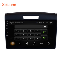 Seicane 9 Inch Car Radio GPS Navigation System for 2011 2012 2013 2014 2015 Honda CRV With Bluetooth Touch Screen autostereo