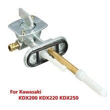 Газовый топливный клапан переключатель спускного крана в сборе комплект для Kawasaki KDX200 KDX220 KDX250