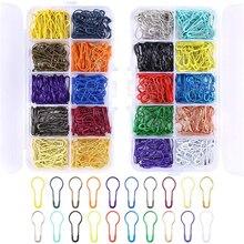 Agulhas de costura pin Cabaça aço inoxidável agulha de tricô circular casamento Tag pin Vestuário acessórios 1000 pçs/set US020