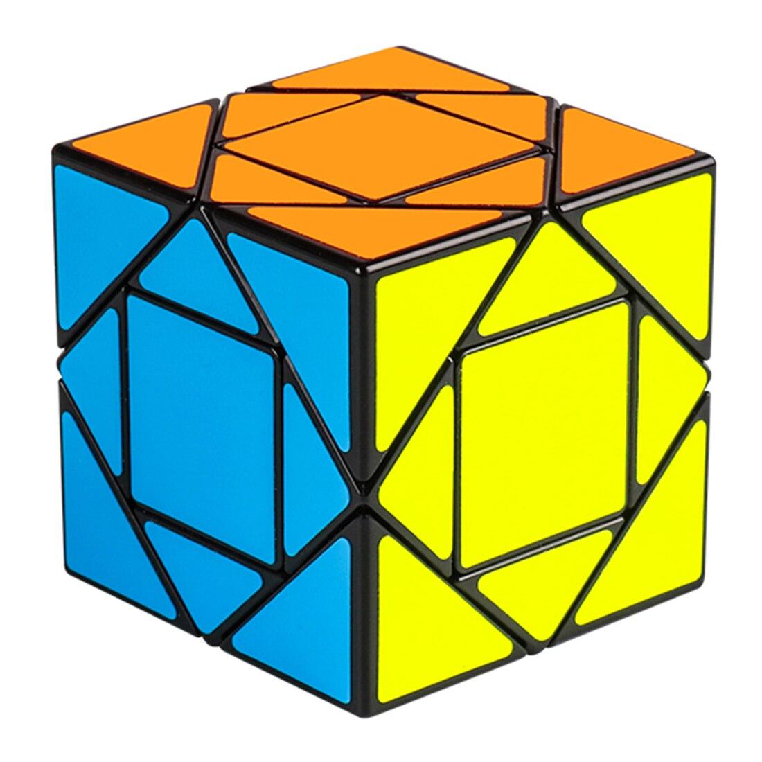 Rowsfire MF8847 Mofang Jiaoshi Pandora Magic Cube Educational Toys For Children Brain Trainning - Black/Yellow/Orange