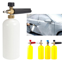 New High pressure foam pot soap liquid watering can nozzle foam generator cleaning supplies car washing machine color random