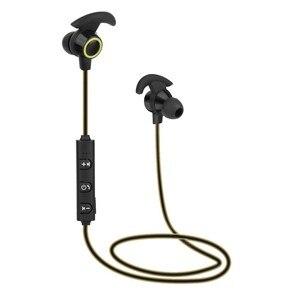 Image 2 - Bluetooth наушники вкладыши Беспроводные наушники с 5 часами работы от аккумулятора Спортивные Беспроводные наушники Bluetooth 4,1 для мобильного телефона