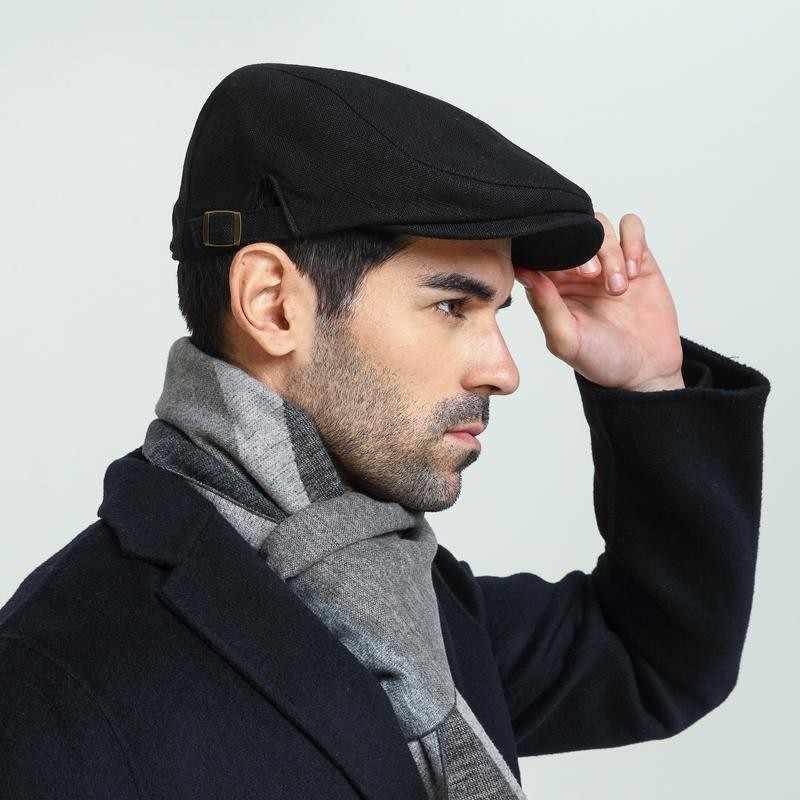 8febeddea Male Plus Size Ivy Hat Big Head Man Spring Summer and Autumn Newsboy ...
