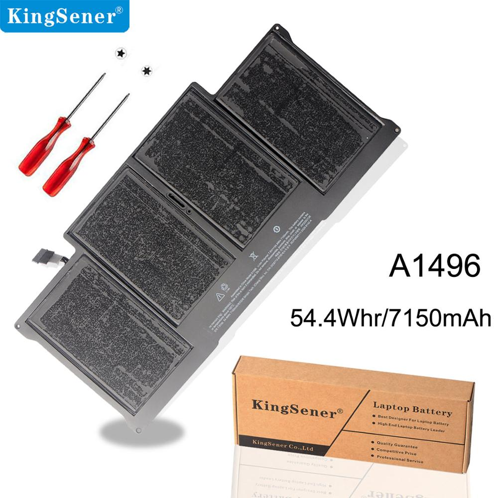 KingSener New Laptop Battery A1496 For Apple MacBook Air 13 A1466 2013/2014/2015 A1496 MD760LL/A MD761CH/A 7.6V 7150mAh image