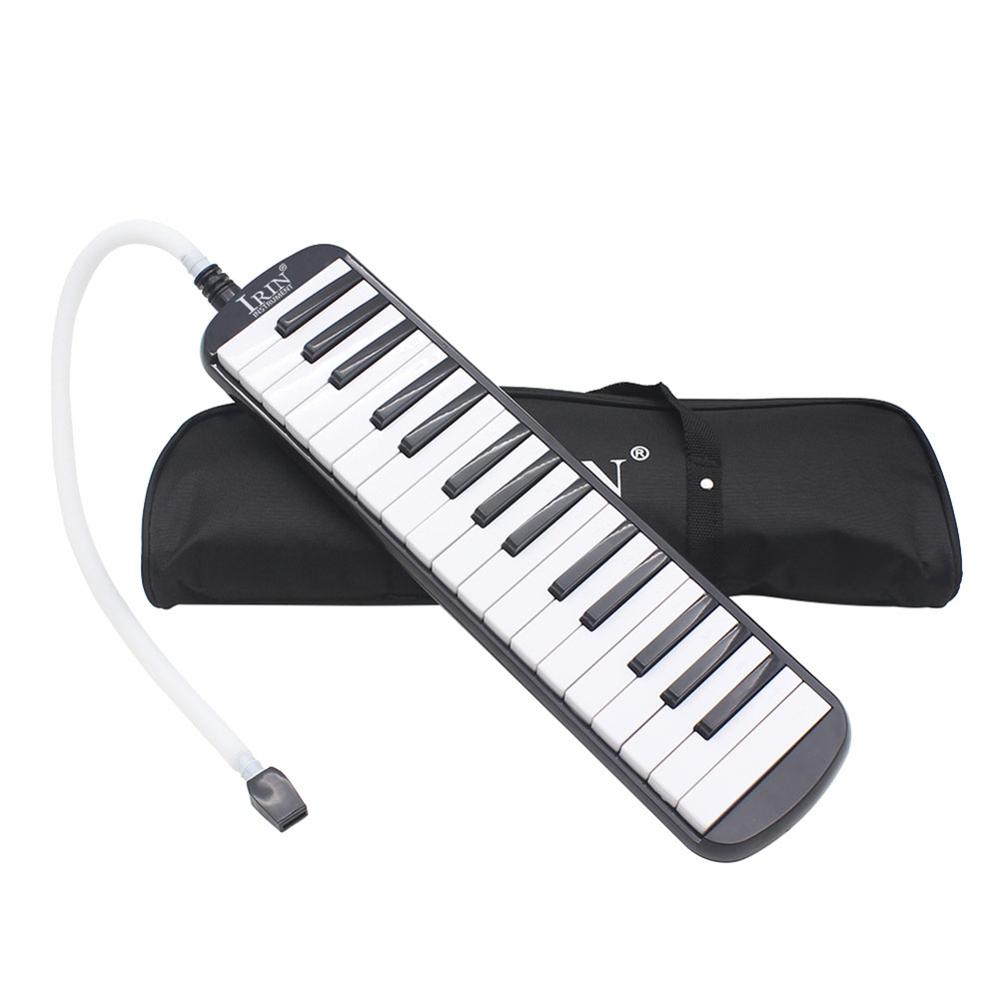 IRIN <font><b>32</b></font> <font><b>Key</b></font> <font><b>Melodica</b></font> Organ Keyboard Piano Harmonica with Storage Bag Music Keyboard Instrument Musical Instruments for Children image