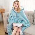 Фланелевое Одеяло с капюшоном  дорожное одеяло с Тоторо  детские одеяла с капюшоном  толстовка с единорогом  теплые флисовые пальто  ТВ одея...