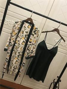 Image 5 - 2019 Women Satin Sleepwear Robe Sexy Silk Robe Gown Set Sleep Lounge Indoor Clothing Ladies Nightwear Nightdress With Chest Pads