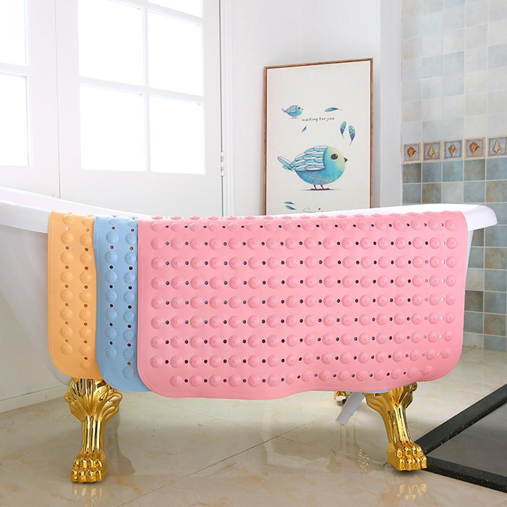 Tapis de salle de bains de Massage carré tapis anti-dérapant avec ventouses pour toilette salle de bains douche 80*80 CM/31.5*31.5 Inch