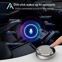 Tsumbay Ai01 TouchAI Bluetooth Hands Free Car Kit Wireless in Car Control For Smartphone Music Player Navigation Universal