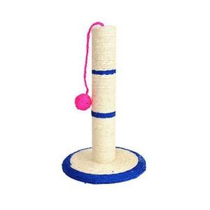 Image 5 - Rascador de poste de árbol para gato con bola (juguete), Protector de muebles de árbol Sisal para rascar mascotas, juguetes de juego para gatos, Color aleatorio