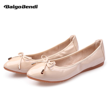 Big Size 34- 42 Pregnant Woman Shallow Flats Light Weight Ballet Girls Dancing Shoes Casual Flat US 10 11