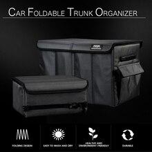 Car Trunk Storage Bag Eco-Friendly Oxford Cloth Super Durable Folding Cargo Storage Box SUV Truck MPV Tool Storage Bag Waterproo датчик delphi 2808 6011 mpv suv