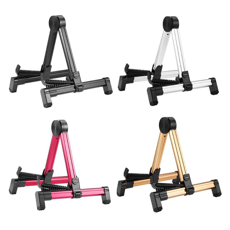 fp20 portable wood guitar stand universal folding a frame guitar holder instrument stand holder. Black Bedroom Furniture Sets. Home Design Ideas