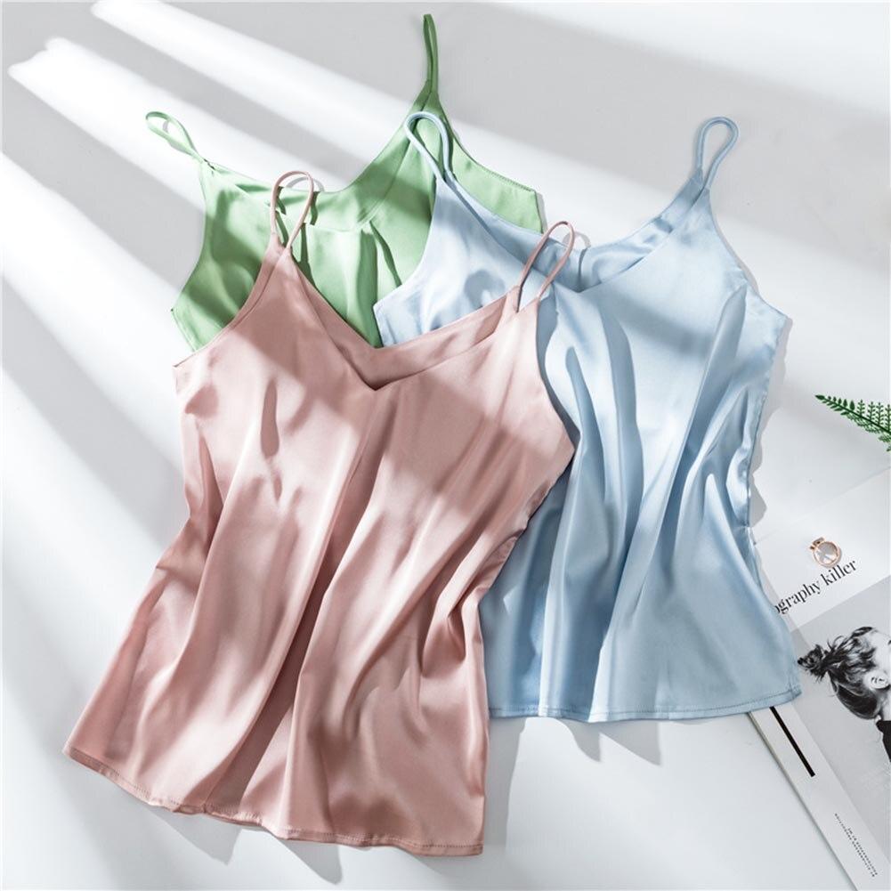 ee3fa20412f4 Camiseta sin mangas sexi para mujer, Camiseta de tirantes sin mangas,  camiseta informal de mujer, ...