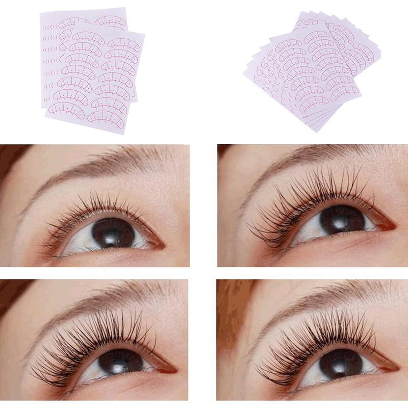 Beauty & Health Beauty Essentials 70pairs/pack Grafting Eyelash Paper Patches 3d Eyelash Under Eye Pads Lash Eyelash Extension Practice Eye Tips Sticker