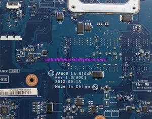 Image 4 - حقيقية CN 03H0VW 03H0VW 3H0VW LA 9104P w 2127U CPU HM76 اللوحة المحمول اللوحة الأم لديل انسبايرون 3521 5521 الكمبيوتر الدفتري