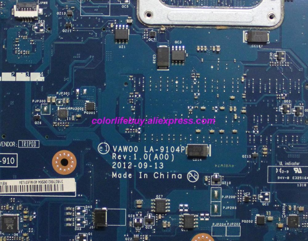 Image 4 - Genuine CN 03H0VW 03H0VW 3H0VW LA 9104P w 2127U CPU HM76 Laptop Motherboard Mainboard for Dell Inspiron 3521 5521 Notebook PC-in Laptop Motherboard from Computer & Office