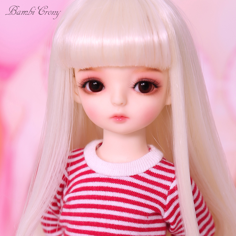 1//6 Bjd Doll SD pio Basic With Free Face Make up Free Eyes