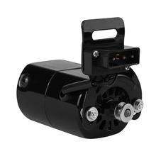 Мотор для швейной машины 220 В, 100 Вт, 7000 об/мин, k кронштейн, 0,5 ампер, детали для бытовой швейной машины, двигатель переменного тока, вилка европейского стандарта