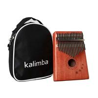 17 Keys Thumb Piano Rosewood Instrument Traditional African Music Instruments 17 Tone
