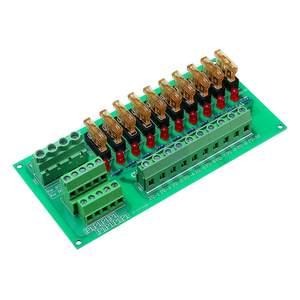 Image 5 - AC/DC 5 To 32V DIN Rail Mount 10 Position Power Distribution Fuse Holder Module Board