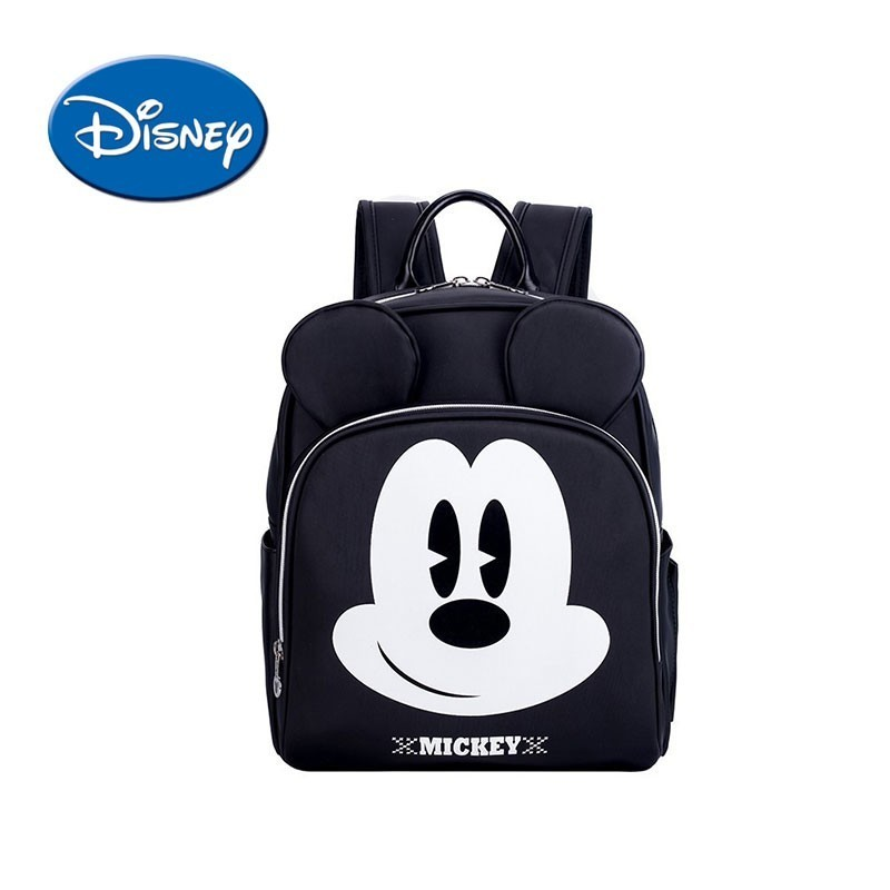 Disney Micky Mommy Bag High Capacity Small Volume Diaper Bag Water proof Toddler Mommy Diaper Backpack