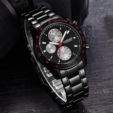 лучшая цена Curren Watch Men Military Relogio Masculino Quartz-Watch Mens Watches Top Brand Luxury Sport Wristwatch Mens Fashion Brand Hot