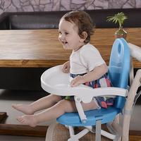 Baby Feeding Chairs Safety Portable Table Chairs High Chair For Children Baby Plastic Adjustable Dining Chair