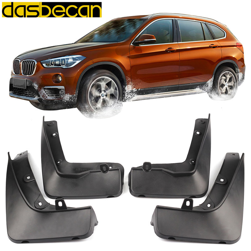 Dasbecan Car Mudguards For BMW X1 F48 2016-2018 Fender Accessories Splash Guard Paneling 2017 title=