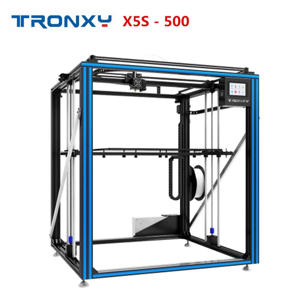 HOT SALE] Newest Larger 3D Printer Tronxy X5ST 500 Heat Bed
