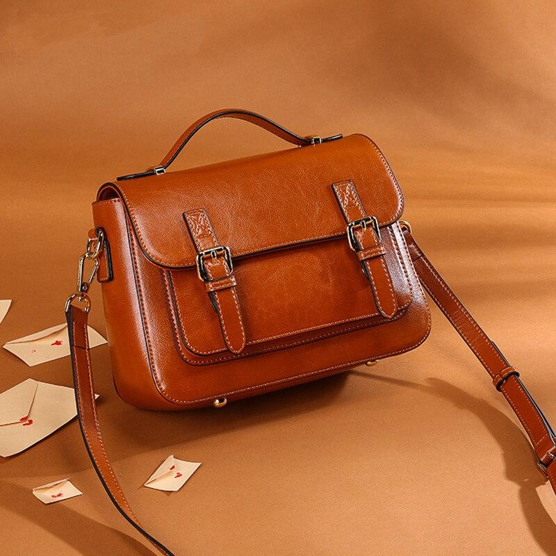 Luxus Handtaschen Frauen Taschen Designer Echtem Leder Handtaschen Frauen Schulter Taschen Kleine Totes Crossbody tasche Weibliche Messenger Taschen-in Schultertaschen aus Gepäck & Taschen bei  Gruppe 2
