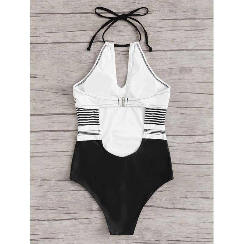 One-Piece Swimsuit Closed Fused Women Bather Beach Female Push Up Swimwear For The Pool Body Bathing Suit Sports Swimming Suit 4