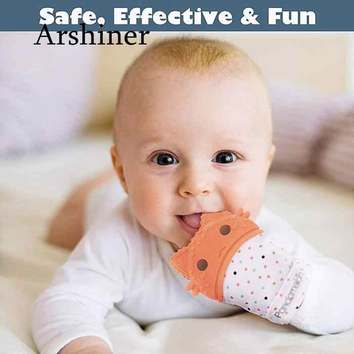 Detail Feedback Questions About Silicone Baby Teether Pacifier Glove