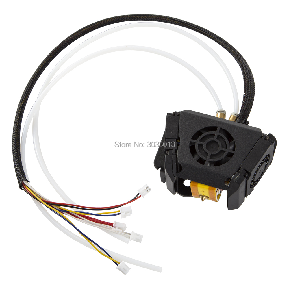 Full Assembled Extruder Kits Fan Cover Air Connections Nozzle Kits 3D printer part for CR X