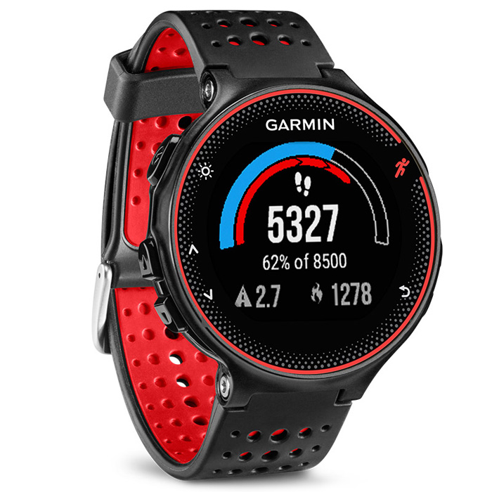 D'origine Garmin Forerunner 235 de Course BT 4.0 Montre Smart Watch Avec 5ATM Étanche Match Prévisions de Couchage Podomètre de Surveillance