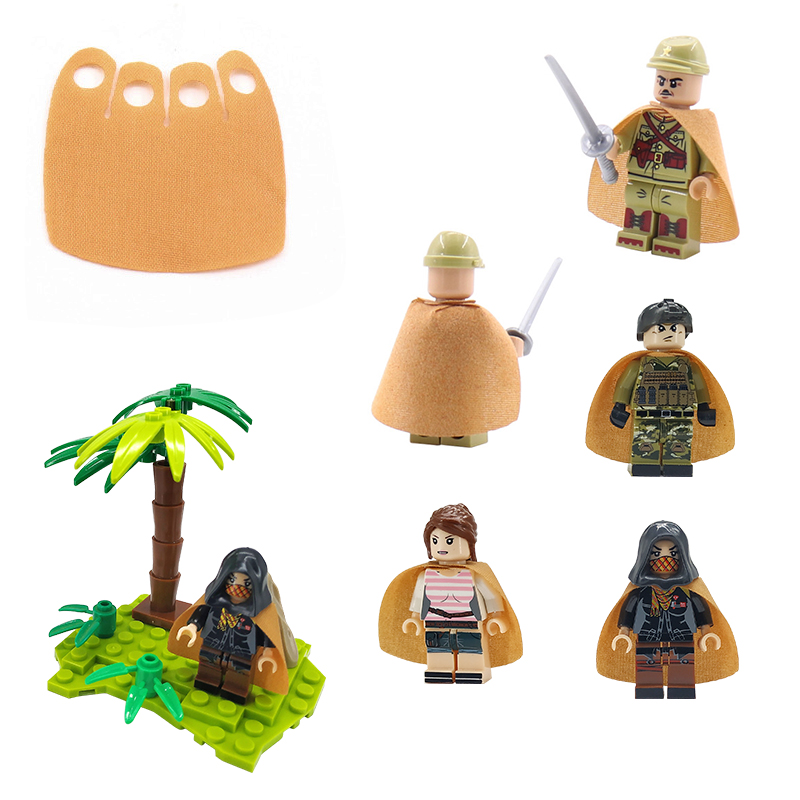 Argent boucles NEUF Lego city pirate version TAN torse Tank Top ceinture