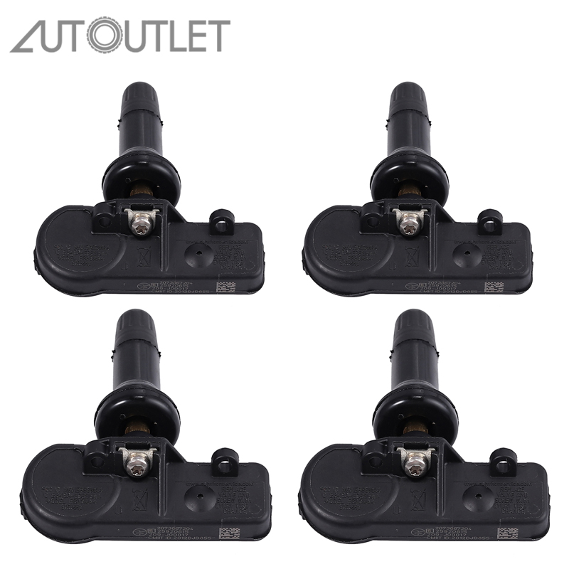 Set of 4 TPMS Tire Pressure Sensors 25920615 for Chevy GM Buick Cadillac