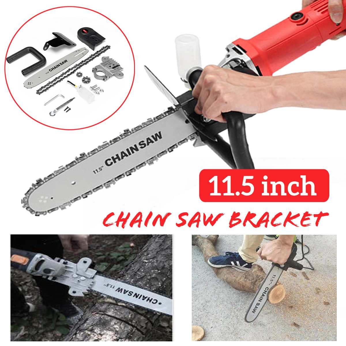 Upgrade Electric Saw Parts 11 5 Inch M10 M14 M16 Chainsaw