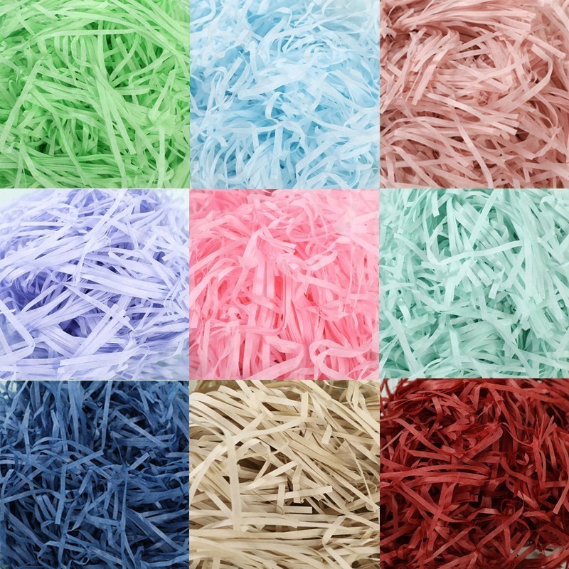 10g Per Bag DIY Paper Raffia Shredded Paper Confetti Gift Box Filling Material Wedding Marriage Home Decor Decoration 62456