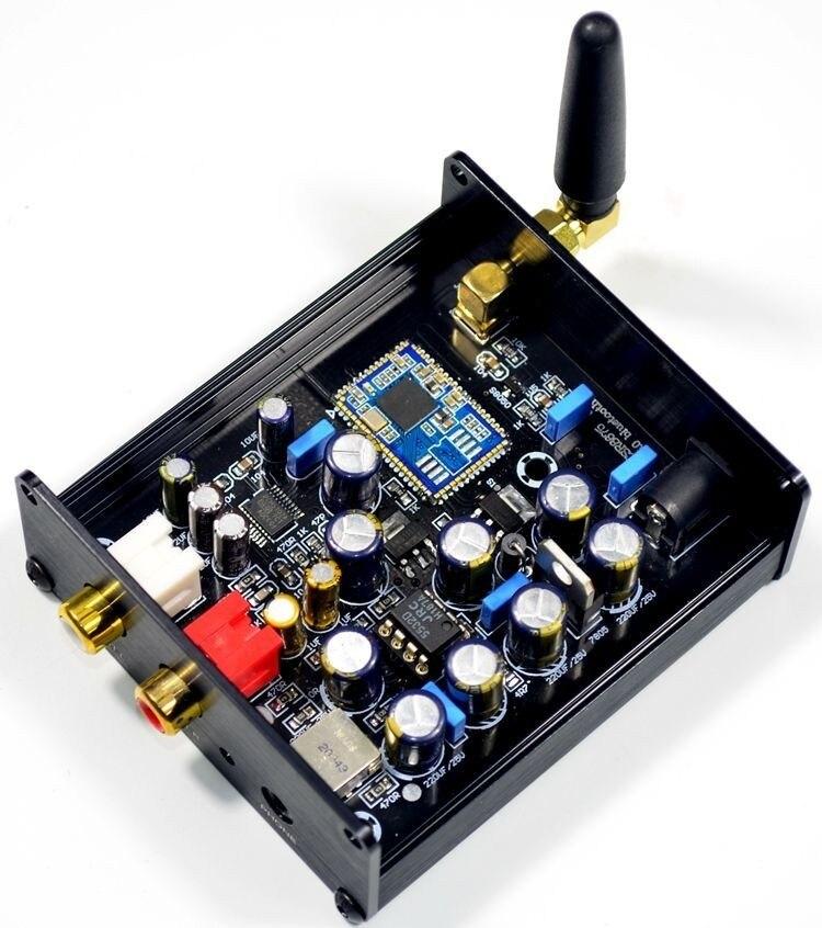 CSR8675 5,0 Bluetooth APTX HD DAC receptor Bluetooth admite salida analógica con función de decodificación de audio DAC PCM5102-in Adaptador inalámbrico from Productos electrónicos    1