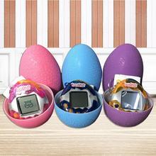 Флэш-трещина яйцо электронная игровая машина виртуальное домашнее животное видео игровая консоль классный подарок для мальчиков