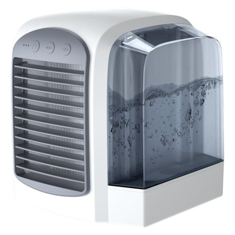Usb Portable climatiseur humidificateur purificateur d'air refroidisseur d'air Mini ventilateurs espace personnel climatiseur dispositif